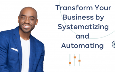 Transform Your Business by Systematising and Automating Interview with Chris L Davis